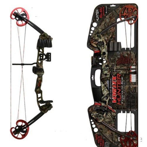 "Barnett Vortex Hunter Compoundbogen,26""-30""/ 45-60 lbs Camo"